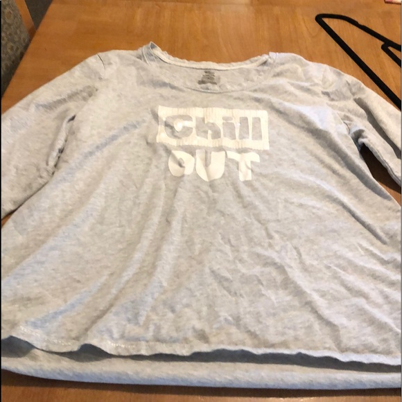 Secret Treasures grey Chill Out t-shirt. 2x